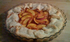 Fresh Peach Gallette image