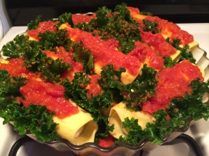 Vodka Sauce for Baked Manicotti with Kale