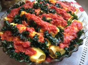 Manicotti with Kale
